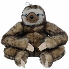 "NEW 12"" WILD REPUBLIC CUDDLEKINS PLUSH SLOTH CUDDLY SOFT TOY THREE TOED SLOTH"