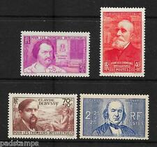 FRANCE 1939 Unemployed Intellectuals set of 4 all  vf MINT l/m/m SG 645