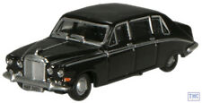 NDS006 Oxford Diecast Black Daimler DS420 Limousine 1/148 Scale N Gauge