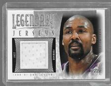 2001 Upper Deck Legends - KARL MALONE - Game Used Jersey - JAZZ