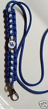 University of Kentucky; Wildcats Blue & White Paracord Lanyard or Bracelet