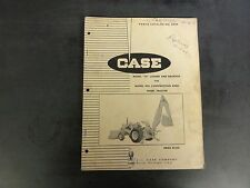 "Case Model ""23"" Loader & Backhoe for Model 430 Wheel Tractor Parts Catalog A924"