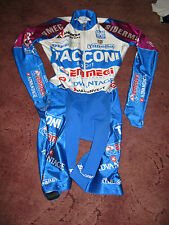 ANDRONI GIOCATTOLI TACCONE SPORT SIDEMEC SANTINI CYCLING SKIN SUIT [42/S]