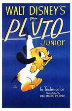 New Pluto Junior Walt Disney Classic Movie Art Poster Home Wall Decor 176380