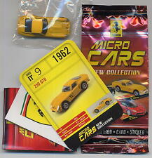Micro Cars 2015 FERRARI 250 GTO #09 +card+sticker+bag+bpz 1/100 Kyosho MIB