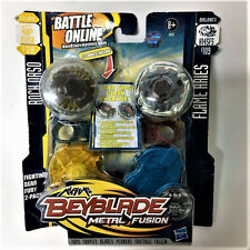 HASBRO Beyblade METAL FUSION ROCK ORSO BB51A VS FLAME ARIES B109 Figure Battle