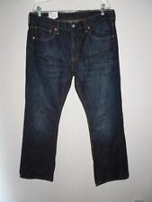 Levis Mens Jeans 36 X 36 Dark Wash Boot Cut 527 | eBay
