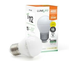 5W E27 LED Hign Lumen Screw Cap Golf Ball Bulb 35w Replacement Cool White 850