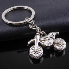 Party Mini Motorcycle Motocross Metal Keychain Zinc Alloy Toy Summer Boy Art New