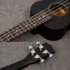 Black color Professional 21inch Acoustic Soprano Ukulele guitar Music Instrument