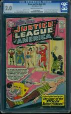 Brave and the Bold 30 CGC 2.0 Silver Age Key DC Comic 3rd Justice League L@@K