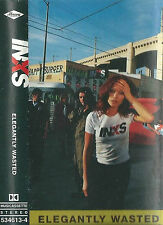 INXS ELEGANTLY WASTED CASSETTE  ALBUM ARGENTINA ISSUE ALTERNATIVE ROCK POP