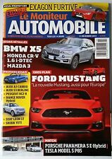 Le moniteur Automobile 11/12/2013; Ford Mustang/ BMW X5/ Honda CR-V/ Mazda 3