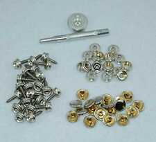 """240pcs  5/8"""" Boat Marine Cover Canvas Canopy Snap Fastener Sockets Screw Kit To"""
