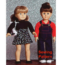 "Kwik Sew K2921 Pattern 18"" Dolls Clothes BN"