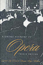 Grout, Donald Jay-Short History Of Opera  BOOKH NEW
