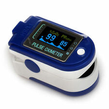 CMS 50D+ Blue Finger Pulse Oximeter with USB and Sofware blood oxygen USA FDA CE
