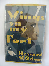 Wings On My Feet by Howard W Odum - 1st Edition 1929