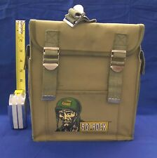 Sgt. Rock Kids Backpack 1981 Signed by Neal Adams Very Good
