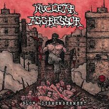 "Nuclear Aggressor ""Slow Dismemberment"" CD [HORROR THRASH METAL FROM ITALY]"