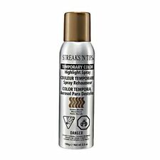 Streaks 'N Tips TEMPORARY HIGHLIGHT HAIR COLOR SPRAY - GOLDEN BLONDE 3.5oz