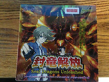 Cardfight!! Vanguard VG-BT11 Sealed Dragons Unleashed Booster Box Japanese