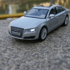 Model Cars Audi A8L 1:32 Alloy Diecast Sound&Light Toys Collections&gifts Gray
