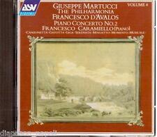 Martucci: Piano Concerto No.2, Canzonetta, Giga.... / Caramiello, D'Avalos - CD