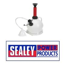 Sealey Vacío De Aceite Y Fluidos Extractor Manual 4ltr ms156