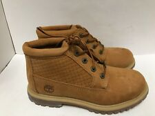 TIMBERLAND WOMENS NELLIE WHEAT EMBOSS BOOTS SIZE 7.5 # A13Z7