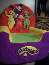 RARE! TELETUBBIES SMALL  FOAM CHAIR WITH  SEAT COVER!VINTAGE!