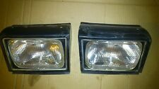 TOYOTA CELICA ST TA40 TA60 1978 1981 ORIGINAL KOITO EURO HEADLIGHTS WITH COVERS