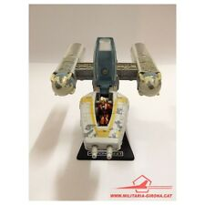 "STAR WARS ACTION FLEET. Y-WING GOLD LEADER, 1996 LGTI. ""NORMAL"" CANOPY w/ PILOT"