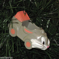 Looney Tunes BUGS BUNNY Buggy CAR Face- Custom Christmas Tree Ornament 1989