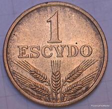 PORTUGAL PIECE NEUVE 1 ESCUDO CUIVRE 1975 1979 A6