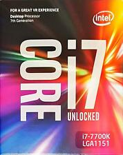 Desktop CPU Intel ↯ Kaby Lake ↯ i7-7700K Unlocked LGA1151 ➽ DELIDDING | Box ✔