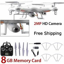 New 8GB X5C-1 2MP HD Camera 2.4Ghz 6-Axis  UAV RTF Quadcopter Drone UFO Gyro RC