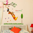 Winnie the Pooh Removable Wall Sticker Decal For Nursery Baby Kid Art Room Decor