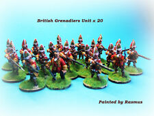 French & Indian War - British Grenadiers Unit x 20