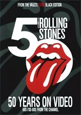 Rolling Stones / 50 YEARS ON VIDEO ~ 60's-80's~(Black Edition) 2xDVD 383min.