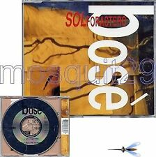 """MIGUEL BOSE """"SOL FORASTERO"""" RARE CDMAXI MADE IN GERMANY"""