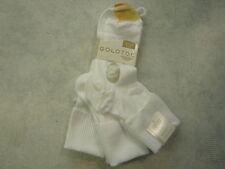 Gold Toe Women's Socks 5566, Womens Ultra Soft Providence Turn Cuff Socks, Wht