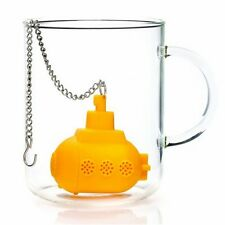 Tea Sub Yellow Submarine Loose Leaf Herbal Spice Infuser Silicone Spice FE