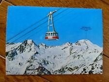 Schnalstal Gletscherbahn Südtirol ungelaufene Ansichtskarte 70er Jahre