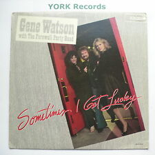 GENE WATSON - Sometimes I Get Lucky - Excellent Condition LP Record MCA MCA-5384