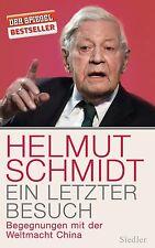 Ein letzter Besuch von Helmut Schmidt (2013, Gebundene Ausgabe)