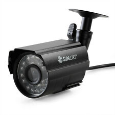 SUNLUXY CMOS 700TVL 24 LED IR-CUT-Überwachungskamera Outdoor wasserdicht