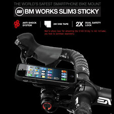 BM-WORKS Slim3 Sticky Bike Mount Holder For iPhone Galaxy Universal Mobile Phone