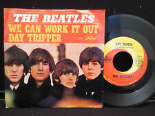 The Beatles - Day Tripper/We Can Work it Out on Capitol 5555 45RPM w/ Pic Sleeve