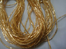150 inches - French Metal Purl Wire Coil Bullion Cord- CHECK- ROUGH - 25+ COLORS